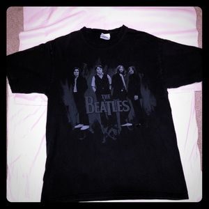 The Beatles Green tag group pic T-shirt! 🔥🔥